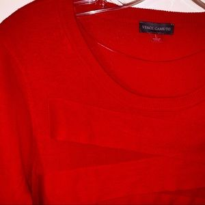 Vince Camuto Tiered Sweater